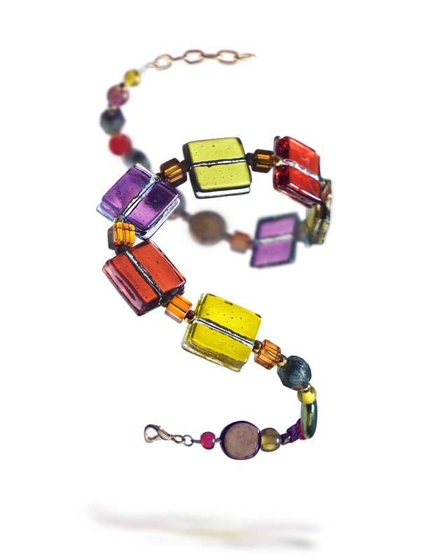 prosperity glass bracelet